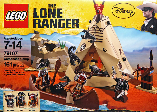LEGO The Lone Ranger 79107 - Comanche Camp