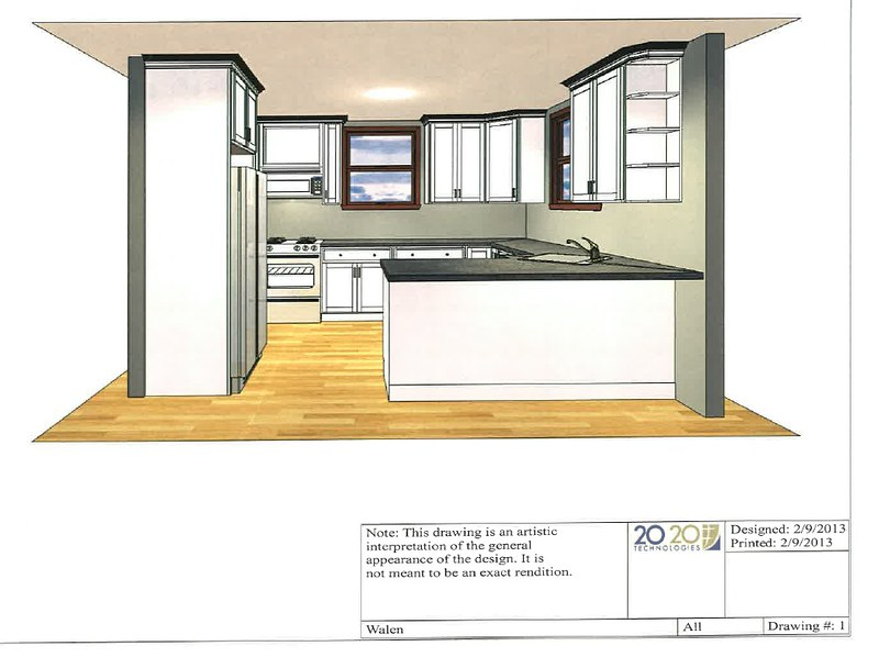 Small u shaped kitchen layout take 2 for 12x10 room design
