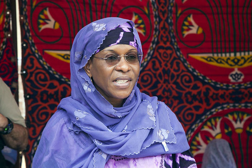 Sudan acting joint special representative and joint chief mediator of UNAMID Aichatou Mindaodou. A new agreement between one of the Darfur rebel groups and the government has been signed. by Pan-African News Wire File Photos