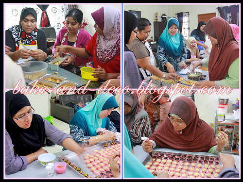 Baking & Deco Class: Special Raya ~ 14 July 2012