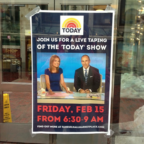 @Todayshow in Boston