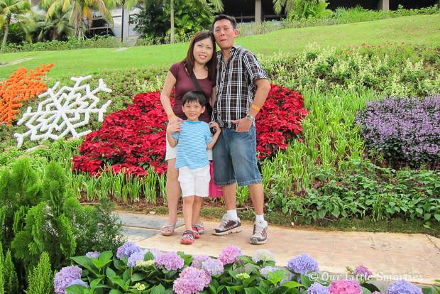 CNY 2013 at Sentosa Flowers