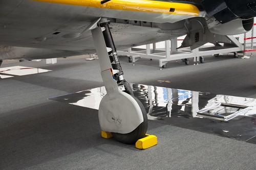 零式艦上戦闘機五二型・車輪