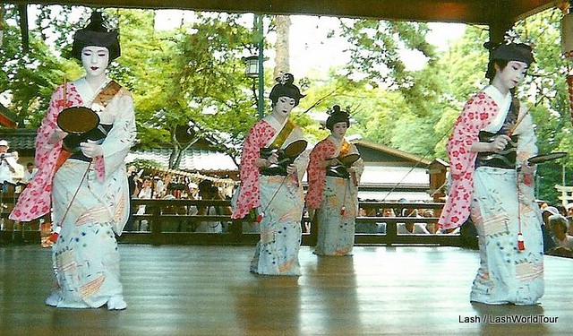 Spring Geisha Dances in Kyoto - Japan