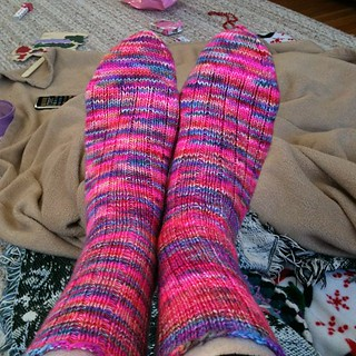 "Finished my ""Happy Socks""!!"