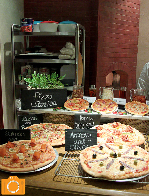 Spectrum Pizza Station