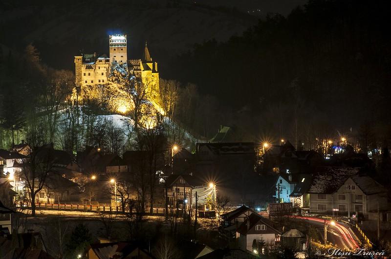 Castelul Bran seara