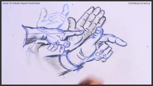 learn how to draw hand positions 016