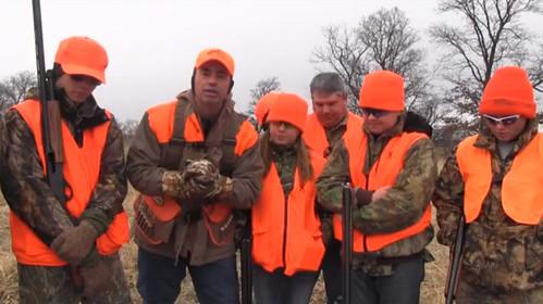 Pheasant Hunting Young Guns