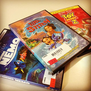 Day51 Disney Movie night. It's cold out and started to snow. 2.20.13 #jessie365