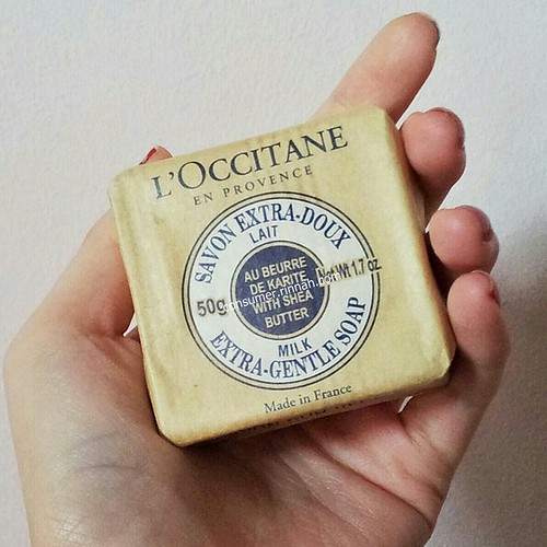 l'occitane soap bar