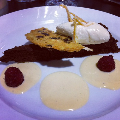 My #dessert at #lunch at Fallon & Byrne popup restaurant at #catex13 #catex