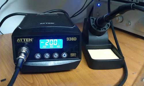 New soldering iron