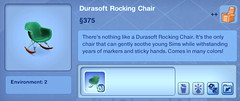 Durasoft Rocking Chair