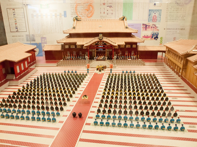 Model of Sacrifice Ceremony of the Ryukyu Kingdom