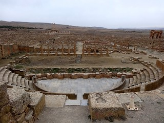 See the famous ancient Roman Town of Timgad near Batna  - Things to do in Batna
