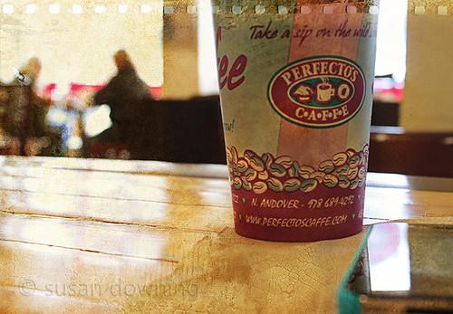 Date in a Coffee Shop