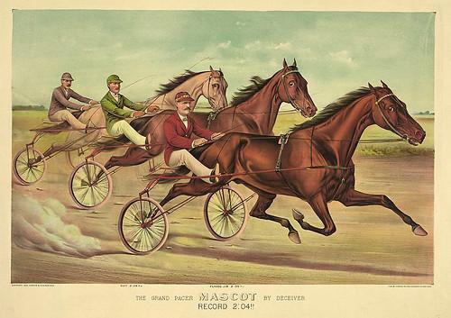 010-Imagen carreras caballos trotones-Library of Congress