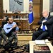 Secretary General Receives the Secretary of State for the Integration of Persons with Disabilities of Haiti