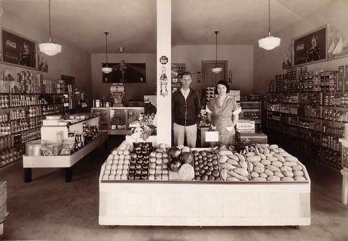 "1936 Adema ""Nip & Tuck"" Grocery Store"