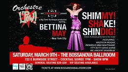 Shimmy Shake Shindig @ Bossanova Ballroom