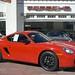 2007 Porsche Cayman 5spd Guards Red Black in Beverly Hills @porscheconnection 706