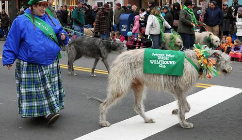 st patrick's day parade, old town alexandria, va