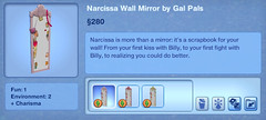 Narcissa Wall Mirror by Gal Pals