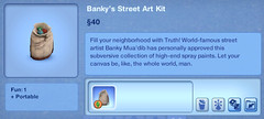Banky's Street Art Kit