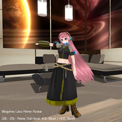 Sample Image @Megurine Luka