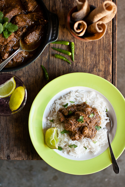 Gosht Shorba from Everything Indian Slow Cooker Cookbook.