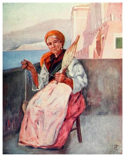 008-Una casa en Sorrento-Naples -1904- Augustine Fitzgeral