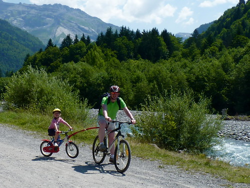 Mountain bikes are a great way to explore the valley
