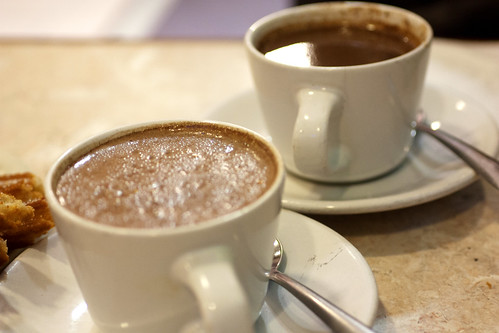 hot chocolate @ churrería el moro