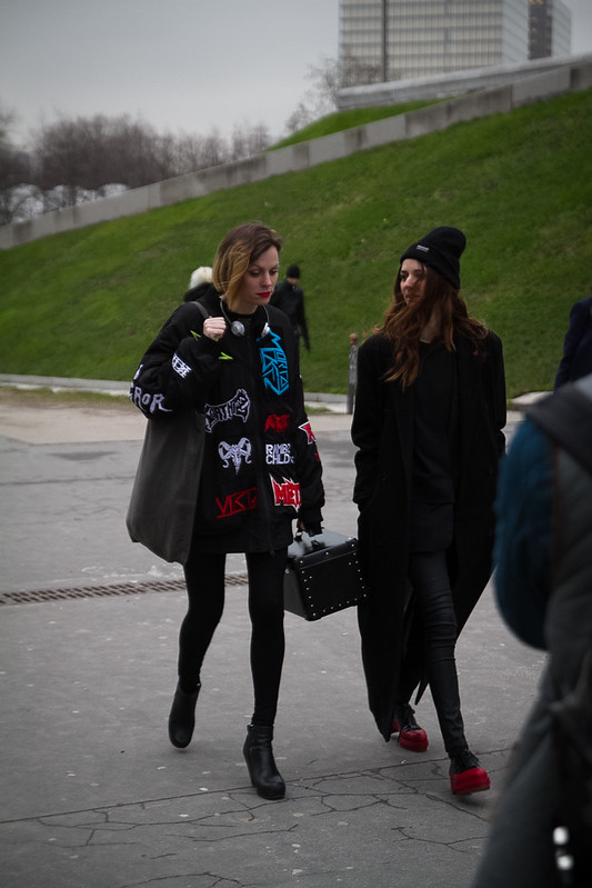 Tuukka13 - Street Style Outside Rick Owens Womens FW 13 RTW Show - Paris Fashion Week -5