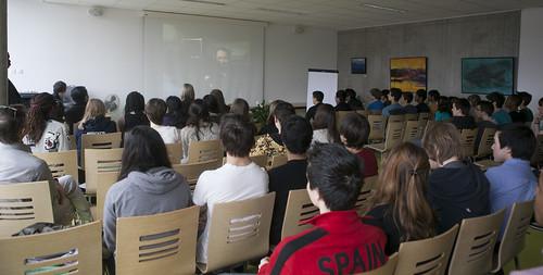 Internet Freedom Fellows Brief Students at International School of Geneva