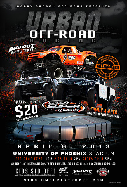 8539257901 b983121aaa z Robby Gordon Off Road Stadium Super Trucks Series!