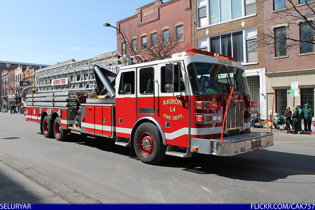 Akron Fire Department Ladder 4 Flickr Photo Sharing