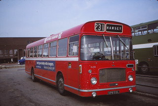 Memories of Bishop's Road bus station, Peterborough (c) David Bell.