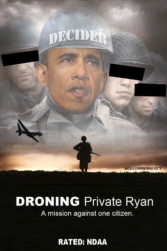 DRONING PRIVATE RYAN by Colonel Flick/WilliamBanzai7