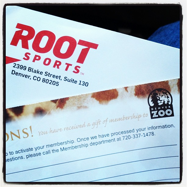 Thank you @rootsports_rm. We are finally going to the zoo today!