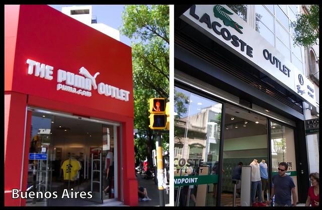 Buenos Aires - outlets Villa Crespo