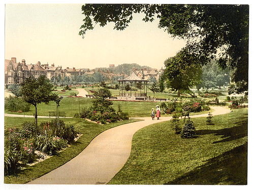 [Borough Gardens from south, Dorchester, England]  (LOC)