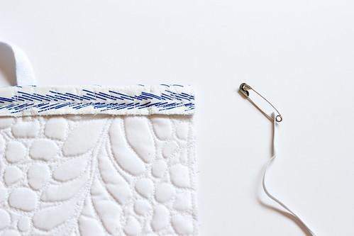 Quilted Grocery Bag Holder Tutorial - In Color Order