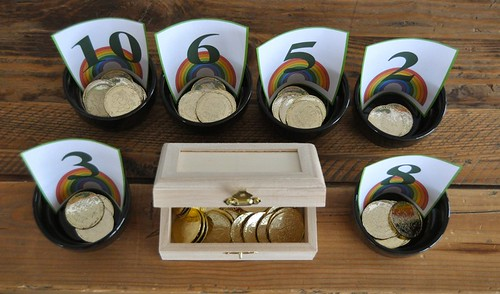Pots of Gold cups and counters
