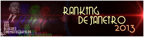 RANKING DE JANEIRO 2013