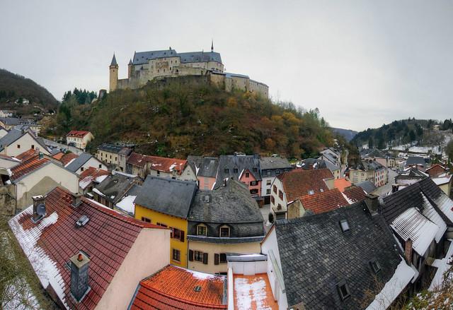 vianden luxembourg panorama