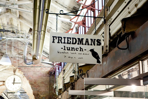 Friedman's Lunch signage