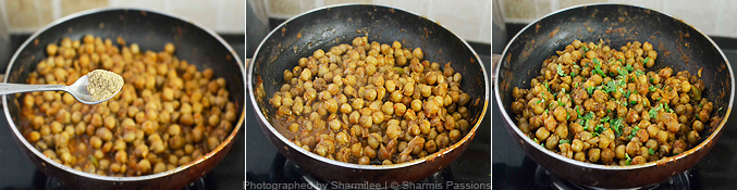 How to make pindi chana - Step3