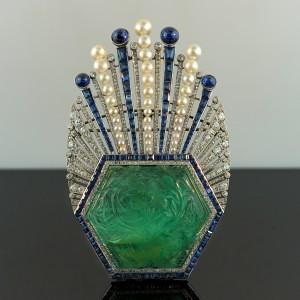 Paul-Iribe-Emerald-Turban-Brooch1-300x300